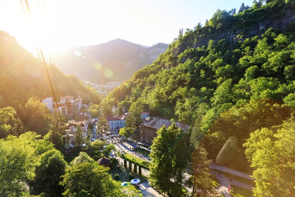 Отпуск на Кавказе осенью